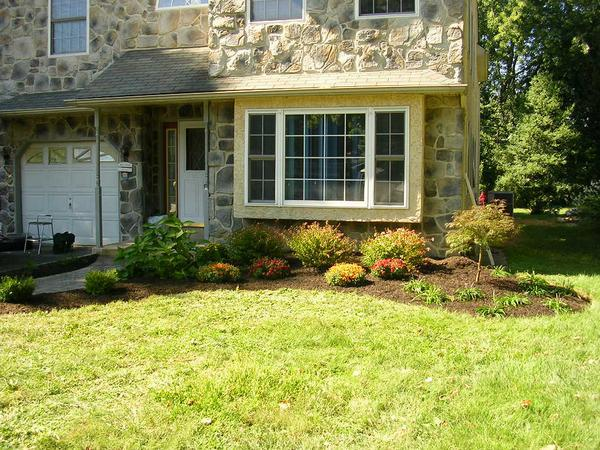 Landscaping installation service
